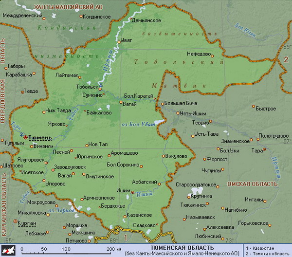 скачать карту тюменской области для навител бесплатно - фото 9